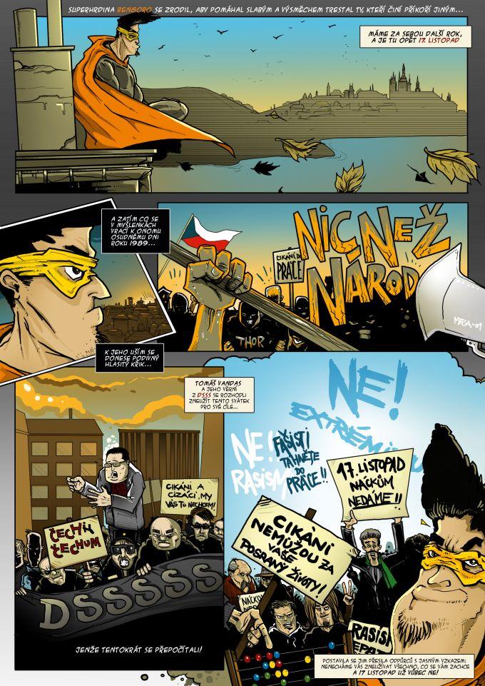 comics pro magazin Romano Vodi 11/2013