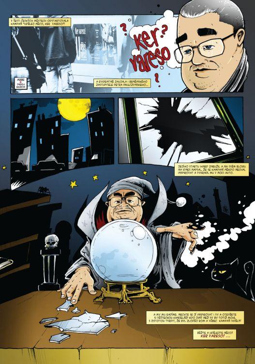 comics do magazinu Romano Vodi