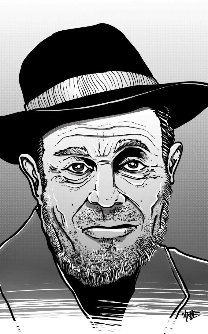karel holomek - ilustrace pro magazin Romano Vodi