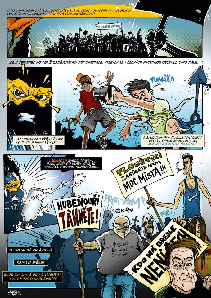 comics pro magazin Romano Vodi 7-8/2013