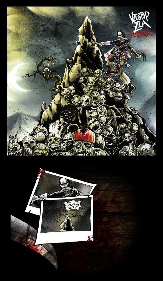 Cd art Řezník of Sodoma Gomora - Vzestup Zla