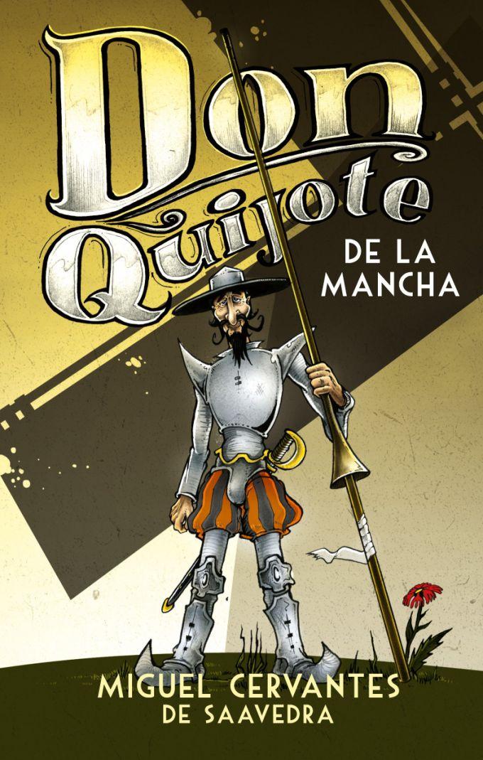 Miguel de Cervantes - Don Quijote /book cover/design/illustration
