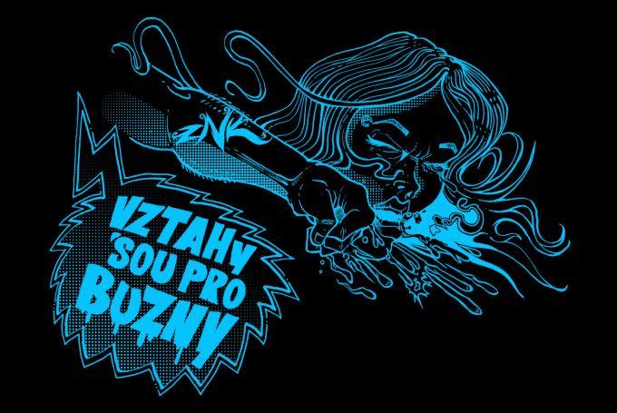 VZTAHY SOU PRO BUZNY t-shirt design Sodoma Gomora