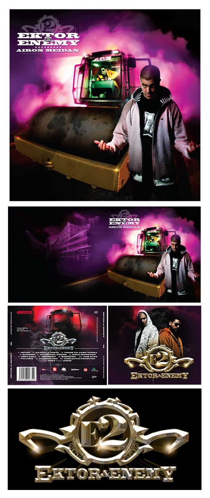 E2, Ektor Enemy cd artworks