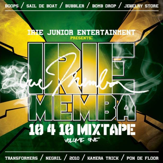 DJ Irie Memba mixtape CD cover