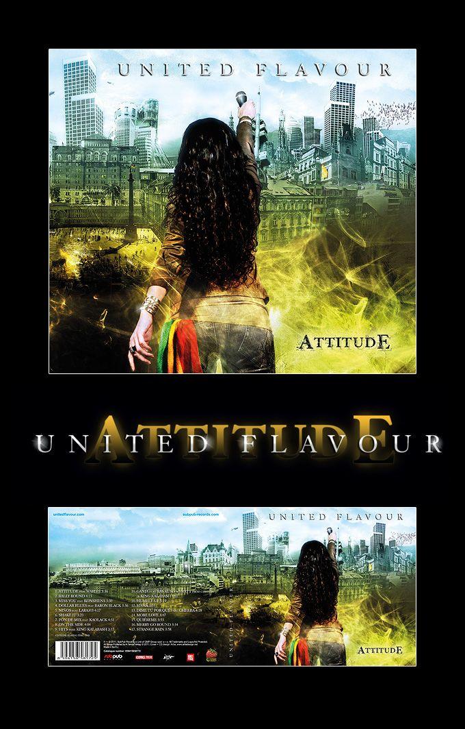 United Flavour  - Attitude CD cover art