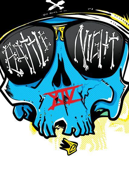 Battle Night XIV head ilustration