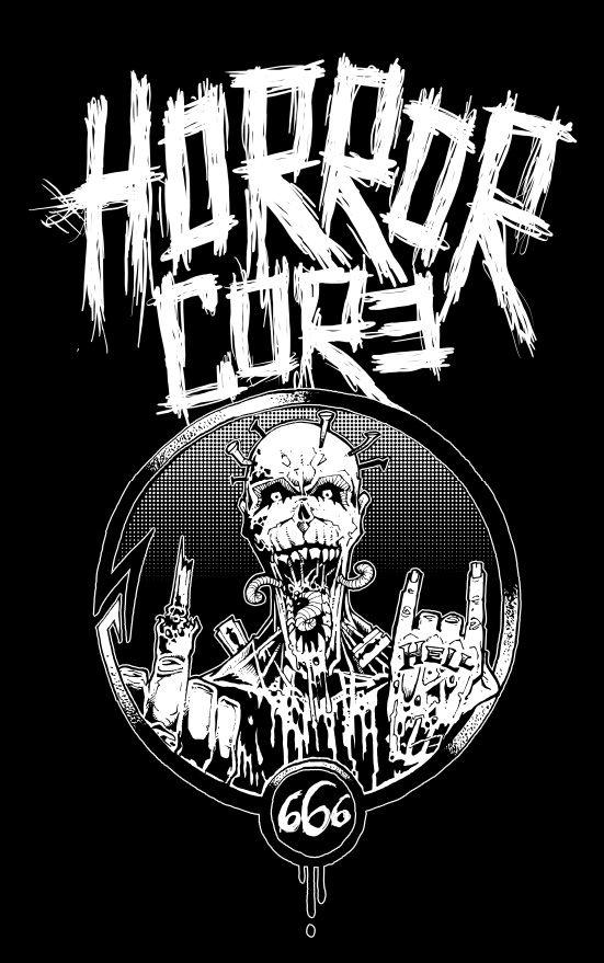 horrorcore teeshirt design