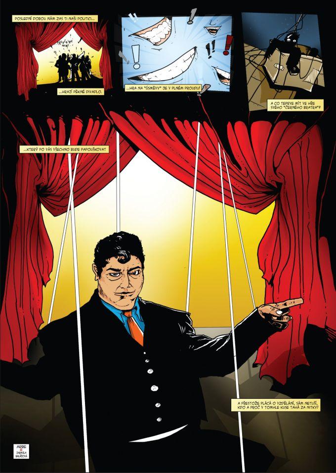 comics pro casopis Romano Vodi