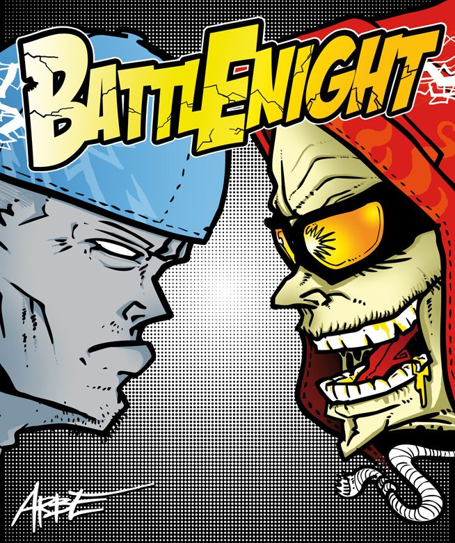 battle night 18 poster art