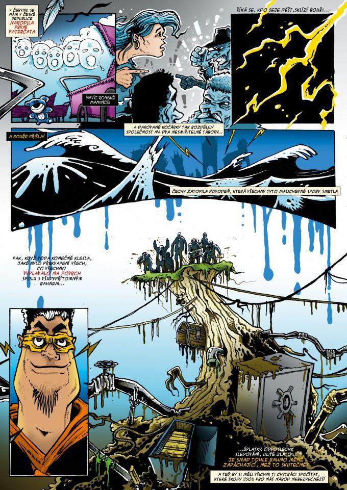 comics pro magazin Romano Vodi 6/2013