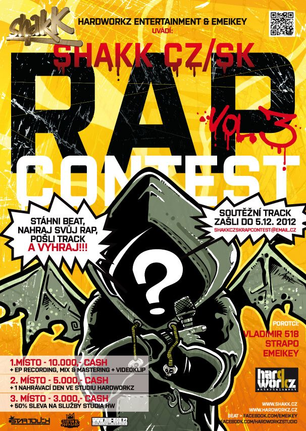 RapContest promo artwork
