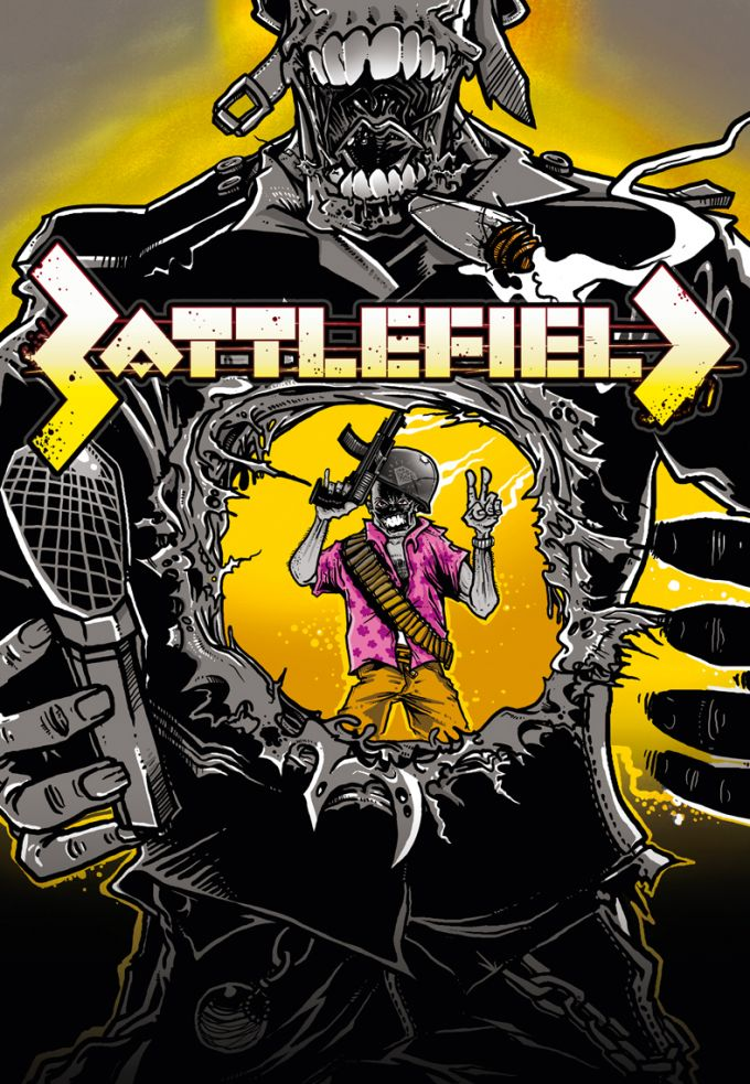 BattleField hiphop open air poster artwork