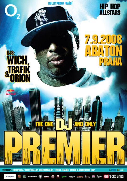 DJ Premier, concert Abaton praha