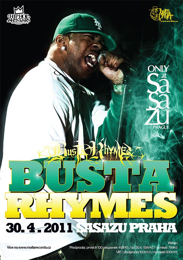 Busta Rhymes - Prague 2011